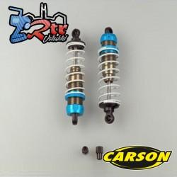 Amortiguadores Carson  100mm Aluminio (2 Unidades) 500405758