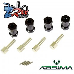 Separador 20mm Absima Hexagonos de 12mm