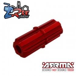 Eje Deslizante Rojo Arrma AR310881