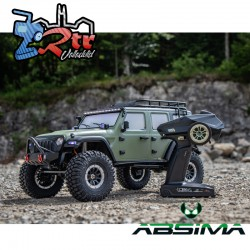 Absima Crawler 1/10 4x4 CR3.4 6 Canales Luces RTR Verde