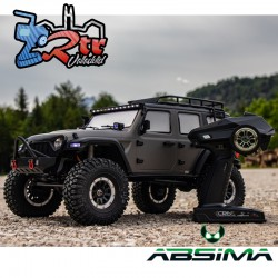 Absima Sherpa Crawler 1/10 4x4 CR3.4 6 Canales Luces RTR Gris