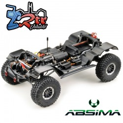 Absima Sherpa Crawler 1/10 4x4 CR3.4 6 Canales Luces RTR Azul