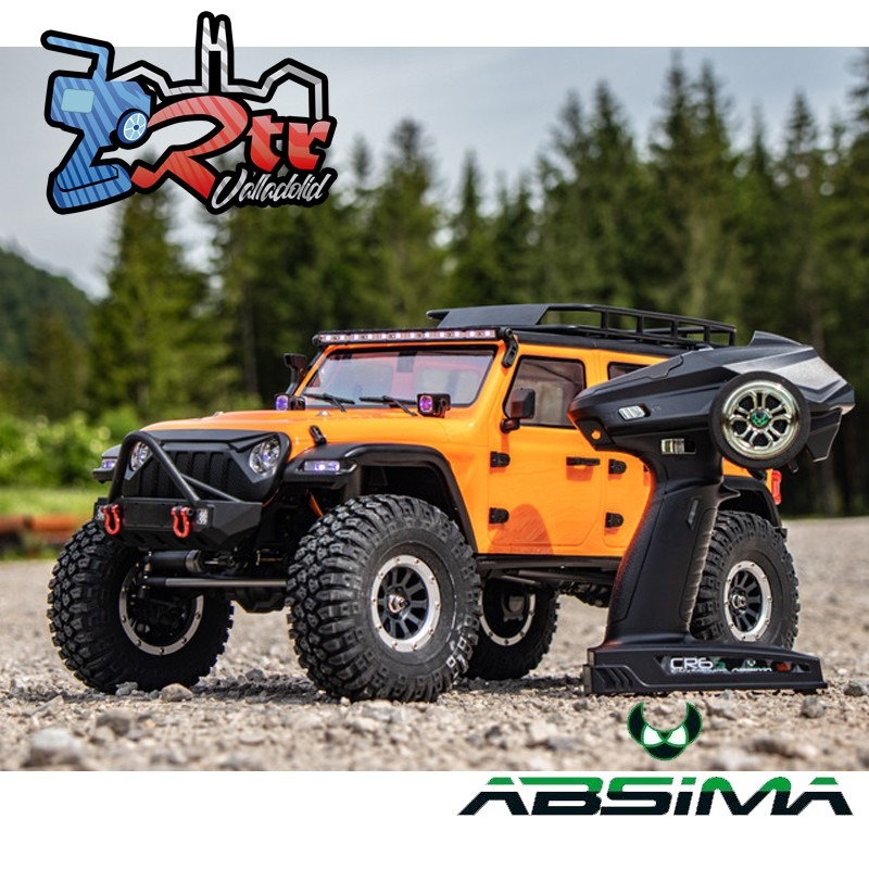 Absima Sherpa Crawler 1/10 4x4 CR3.4 6 Canales Luces RTR Anaranjado