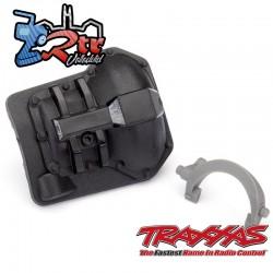 Tapa diferencial trasera negra TRX-6 Traxxas TRA8847