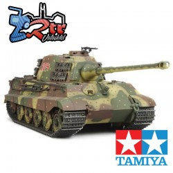 "Tamiya Tanque de Guerra 1/16 King Tiger ""Production Turret"" Opcionado 56018"