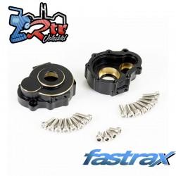 Fastrax TRX-4 Latón BK Portal Drive Carcasa Exterior Del/Tra