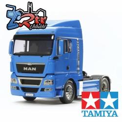 Tamiya MAN TGX 18.540 4X2 XLX Versión Azul Frances Kit