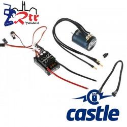 Castle Mamba X Crawler Edition Waterproft 25.2V 2280Kv Sensores Combo