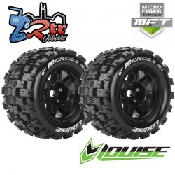 Ruedas 17mm Monster Truggy Louise MFT-ST-MCROSS Pegadas Rellena