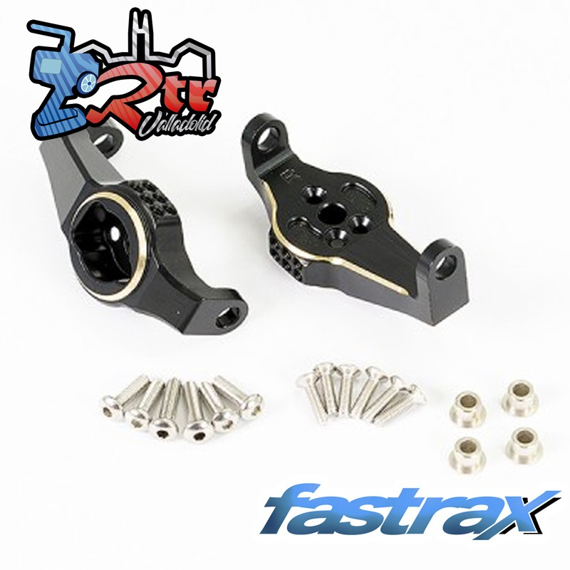 Bloque giratorio frontal Fastrax TRX-4 Latón Negro