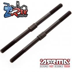 Tirante Roscado en Acero M5x89mm Arrma AR330221