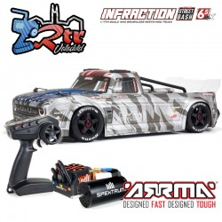 Arrma Infraction 1/7 Todos los caminos Brushless BLX 6s RTR Gris