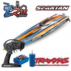 Traxxas Spartan TSM Brushless 6S Anaranjado