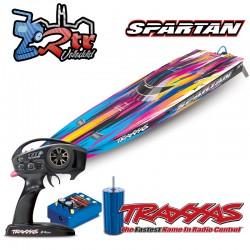 Traxxas Spartan TSM Brushless 6S Rosa