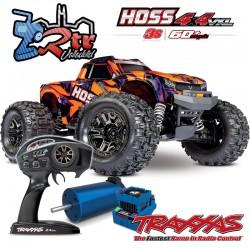 Traxxas Hoss 3s Brushless TSM Monster Truck 1/10 RTR Anaranjado