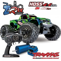 Traxxas Hoss 3s Brushless TSM Monster Truck 1/10 RTR Verde