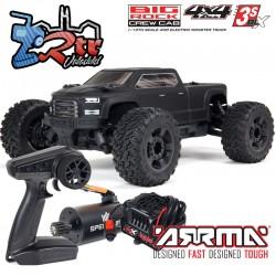Arrma Bigrock BLX 1/10 Monster Truck 3S RTR Negro