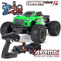 Arrma Granite 1/10 Monster truck 4wd Brushless BLX-3s RTR...