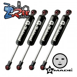 Gmade G-Transition Amortiguadores GM20504 80mm 1/10, 4 Unidades