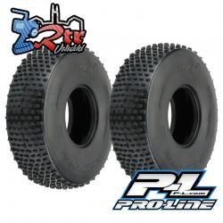 """Ruedas Proline 2.2"""" Ibex Ultra Comp Crawler Rock Racer Predator Super Suave No foam PR10178-03"""