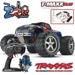 Traxxas Nitro T-Maxx 3.3 TQi TSM RTR 1/10 4wd Azul
