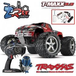 Traxxas Nitro T-Maxx 3.3 TQi TSM RTR 1/10 4wd Rojo