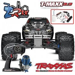 Traxxas Nitro T-Maxx 3.3 TQi TSM RTR 1/10 4wd Gris