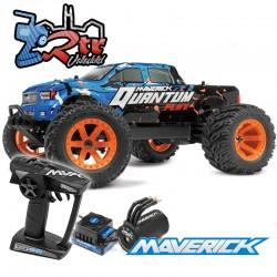 Maverick Quantum MT Flux 80A 1/10 4Wd Brushless RTR Azul