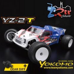 Yokomo YZ-2T 4WD Truggy Kit Eléctrico + Juego de diferencial