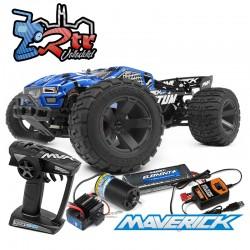 Maverick Quantum XT 1/10 4Wd Escobillas RTR Azul
