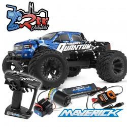 Maverick QuantumM T 1/10 4Wd Escobillas RTR Azul