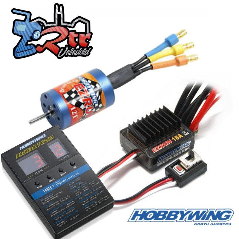Combo Brushless Hobbywing Ezrun Ezrun SL18 2030-12T Escala 1/18