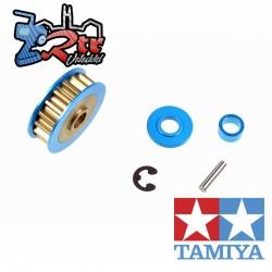 Polea de Aluminio Tamiya 18T para TA06 XV-01 XV-01 PRO 54450