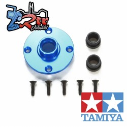 Cubierta de unidad diferencial de aluminio Tamiya TA06 para TA-06 Tamiya 54602
