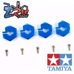 Cubos de rueda hexagonos 12mm Tamiya 42352