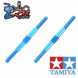 Tensores ligeros de aluminio azul 3x42mm Tamiya 54250
