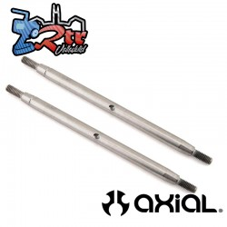 Enlace de acero inoxidable M6x 117 mm (2 piezas) SCX10III Axial AXI234015
