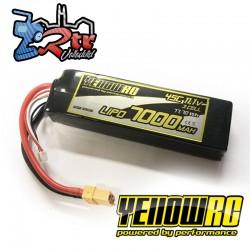 Yellow RC LiPo 7000mAh 11.1V 3S 45/90C XT90 Plug