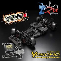 Yokomo DP-YD2E RWD Drift Kit Plastico  con giroscopio de dirección YG-302
