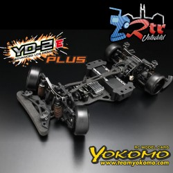 Yokomo YD-2E Plus RWD Drift Kit Chasis Carbono