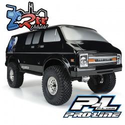 Proline 70s Rock Van Cuerpo de color resistente (negro) PR3552-18