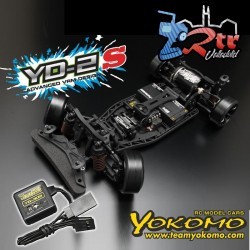 Yokomo YD-2S RWD Drift Kit Chasis Plastico con giroscopio de dirección YG-302