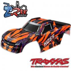 Carrocería Traxxas Hoss 4x4 Pintada  con soportes TRA9011A