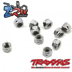 Tuercas de seguridad 4mm Traxxas TRA1747