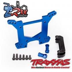 Torre de choque trasera Aluminio Azul Traxxas TRA6738X