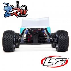 Losi Mini-T 2.0 2WD Stadium Truck Brushless RTR Blanco/azul
