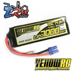 Yellow RC LiPo 7000mAh 14,8V 4S 45/90C EC5 Plug