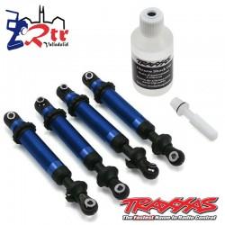Amortiguadores Traxxas GTS Aluminio Azul TRX-4 TRA8160X