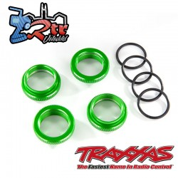 Retenedor de resorte aluminio anodizado en verde Maxx TRA8968R