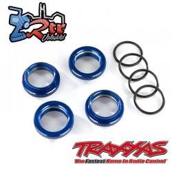 Retenedor de resorte aluminio anodizado en Azul Maxx TRA8968X